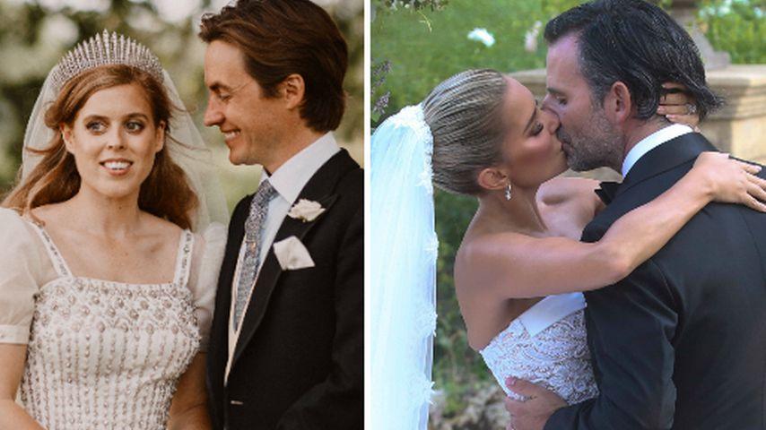 Das waren die drei schönsten Promi-Hochzeiten im Jahr 2020