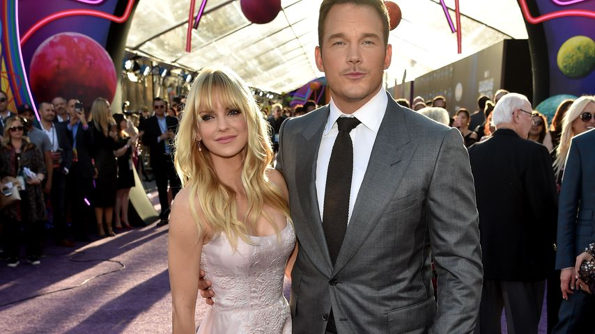 "Anna Faris und Chris Pratt bei der ""Guardians of the Galaxy Vol. 2""-Premiere in Hollywood"