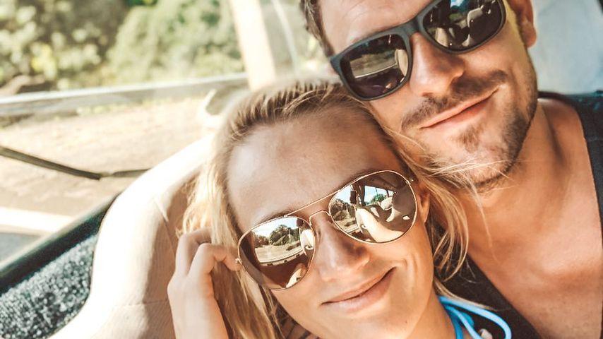 Anna Hofbauer und Marc Barthel im Urlaub