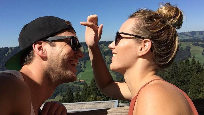 Marvin Albrecht und Anna Hofbauer im Allgäu