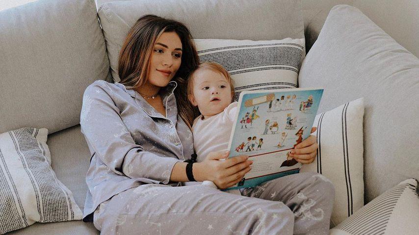 Anna Maria Damm mit ihrer Tochter, September 2019