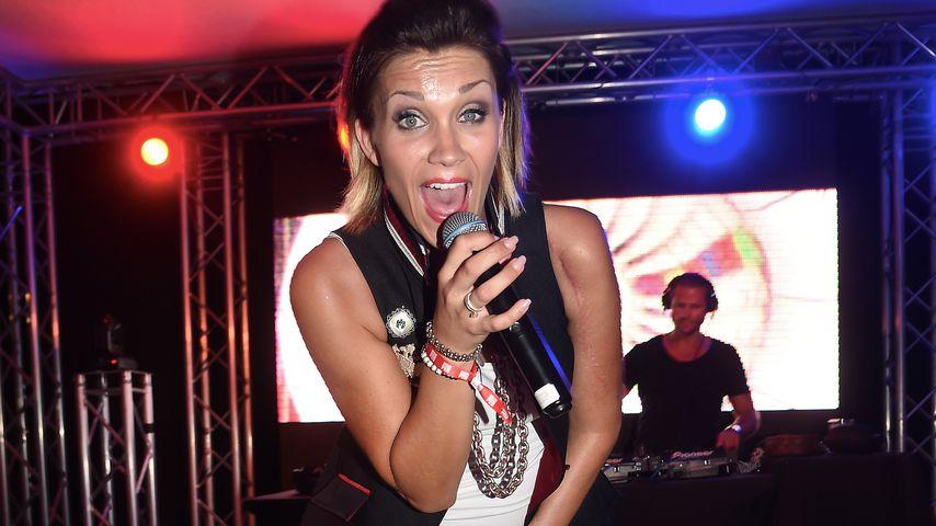Anna-Maria Zimmermann bei der BILD Party im Circuit Mallorca