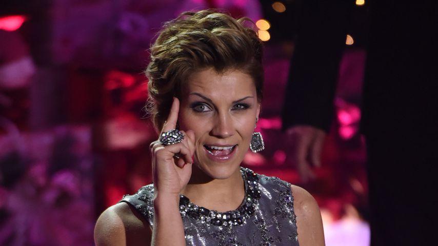 """Anna-Maria Zimmermann bei der ZDF-Show """"Heiligabend mit Carmen Nebel"""" in München"""
