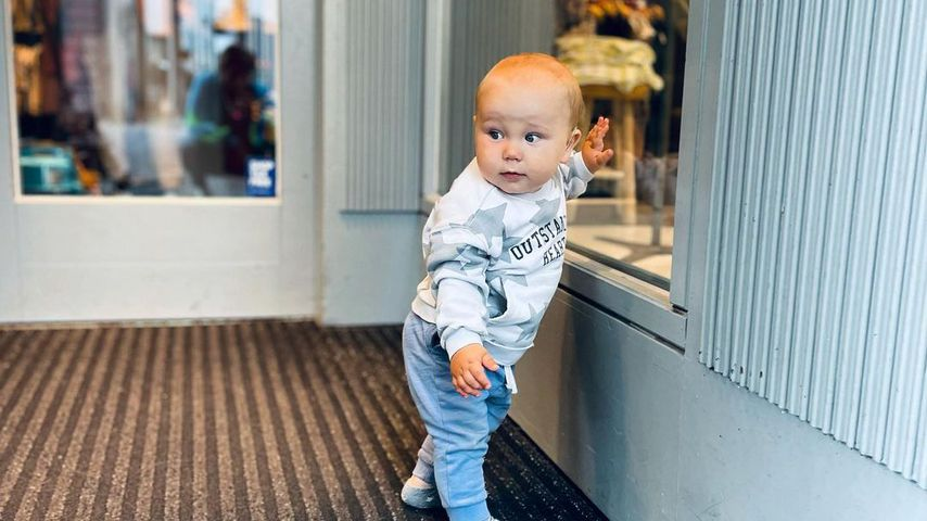 Anna-Maria Zimmermanns Sohn Sepp, Juli 2021