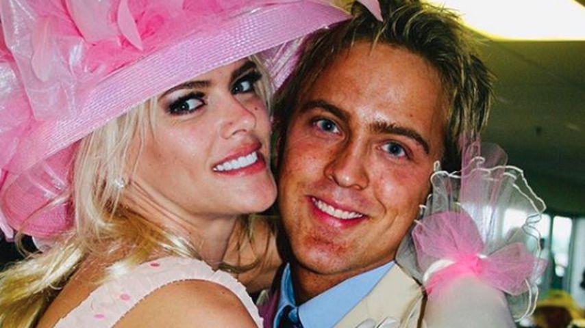 Anna Nicole Smith und Larry Birkhead im Jahr 2004