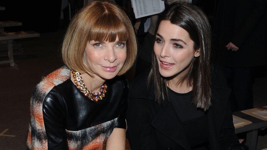 Anna Wintour und ihre Tochter Bee Schaffer, New York Fashion Week 2011