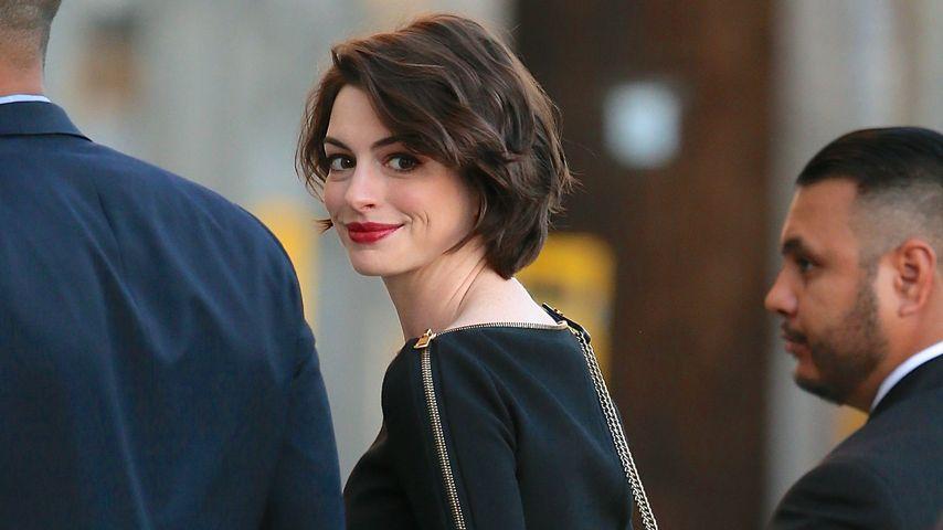 Ganz privat: So feierte Anne Hathaway Weihnachten