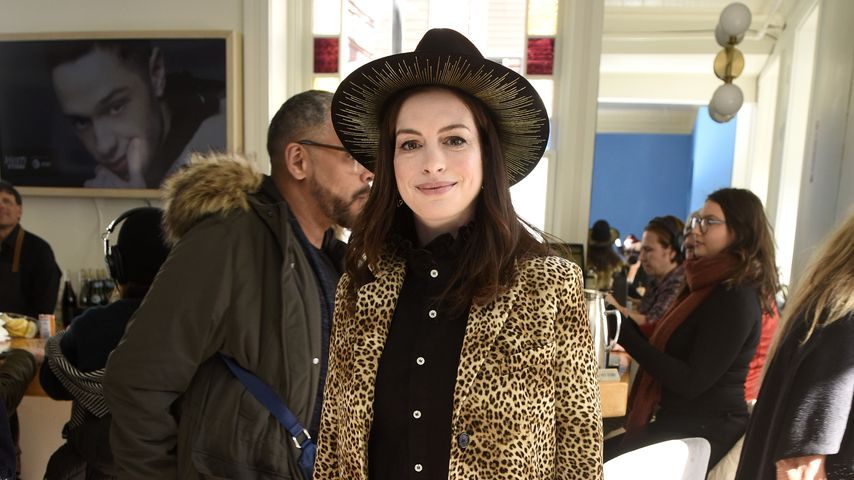 Endlich verraten: So heißt Anne Hathaways jüngster Sohn!