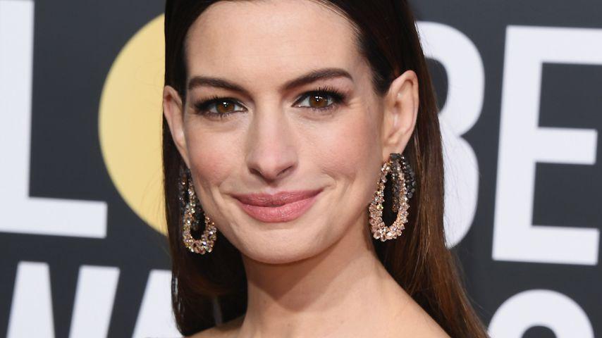 Feuerteufel: DAS macht Anne Hathaway zum Stress-Abbau