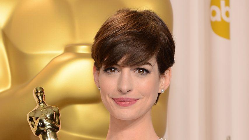 Anne Hathaway bei der Oscar-Verleihung 2013
