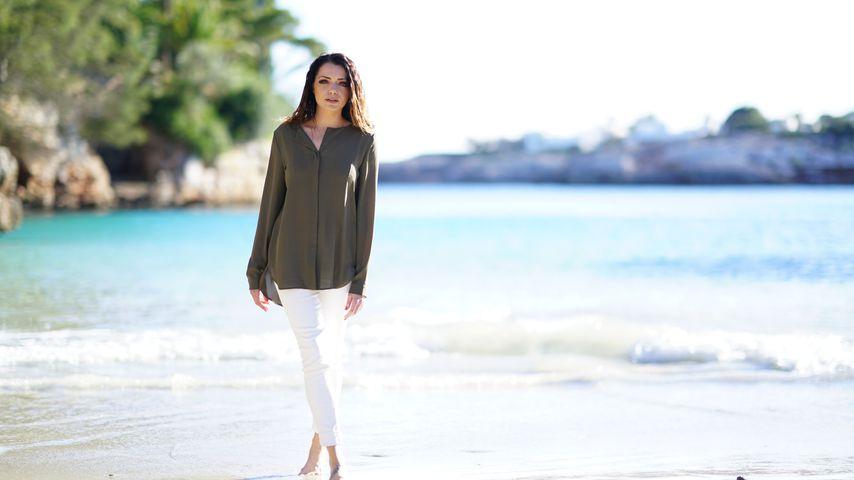 Anne Menden auf Mallorca
