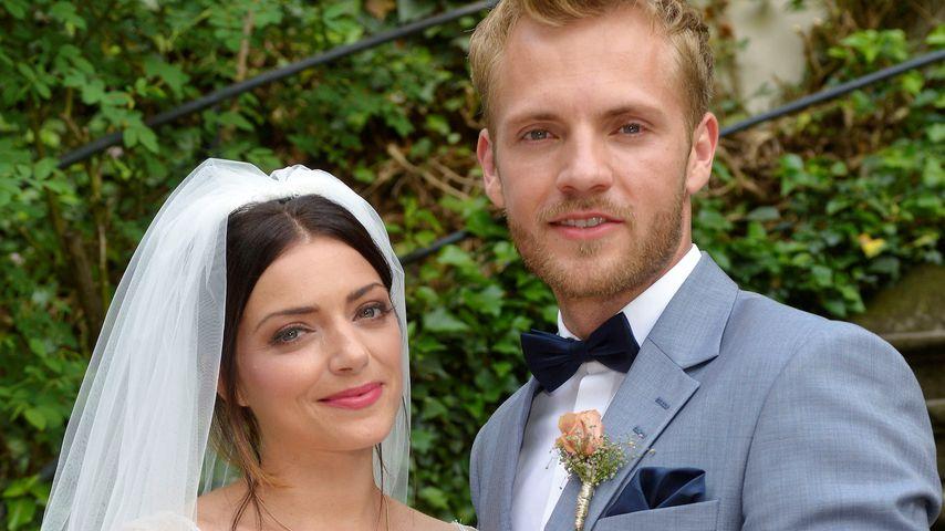 Erste Hochzeitsbilder: So schön ist GZSZ-Emily als Braut!