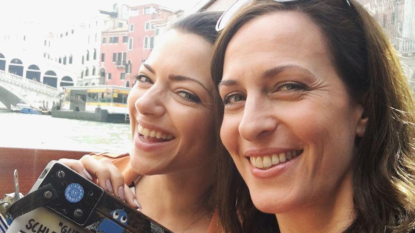 Anne Menden und Ulrike Frank beim GZSZ-Dreh in Venedig