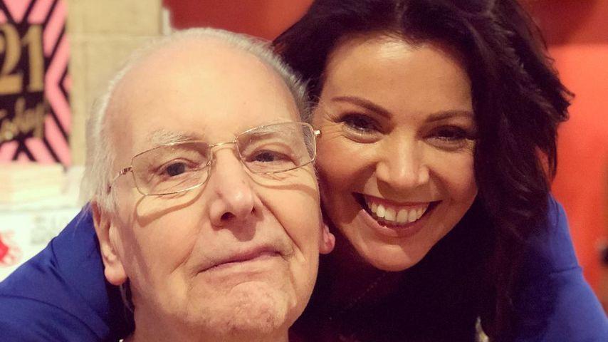 Anne Twist mit ihrem Vater Brian Selly