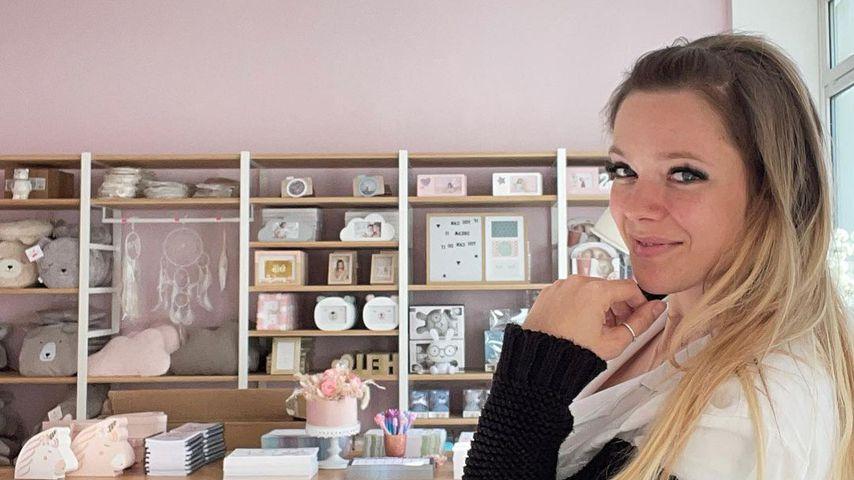 Viel zu tun: Anne Wünsche bereitet Ladeneröffnung vor