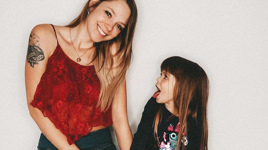 Anne Wünsche mit Tochter Juna