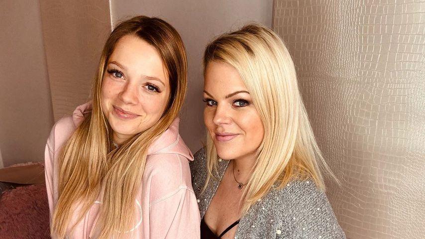 Anne Wünsche und ihre Freundin Kim Zarwell