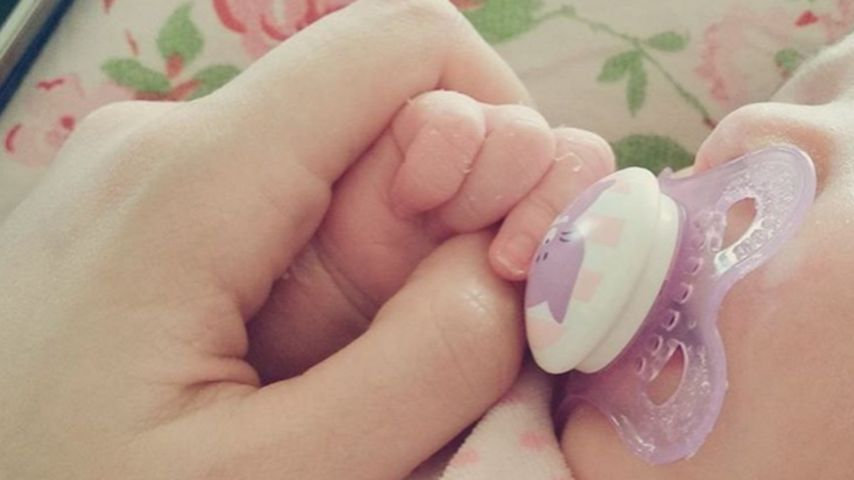 Im Baby-Fieber: BTN-Anne Wünsche vergöttert ihr Töchterchen