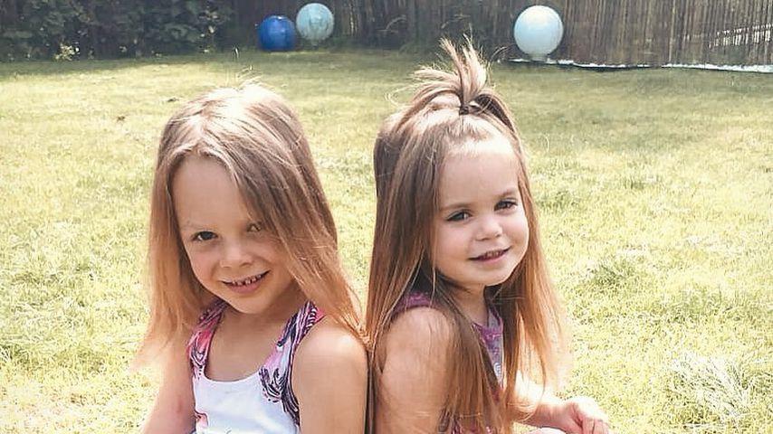 Anne Wünsches Töchter Miley und Juna