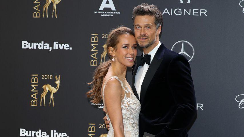 Annemarie und Wayne Carpendale bei der Bambi-Verleihung 2018
