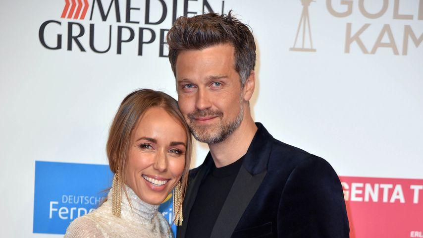 Annemarie und Wayne Carpendale bei der Goldenen Kamera im März 2019