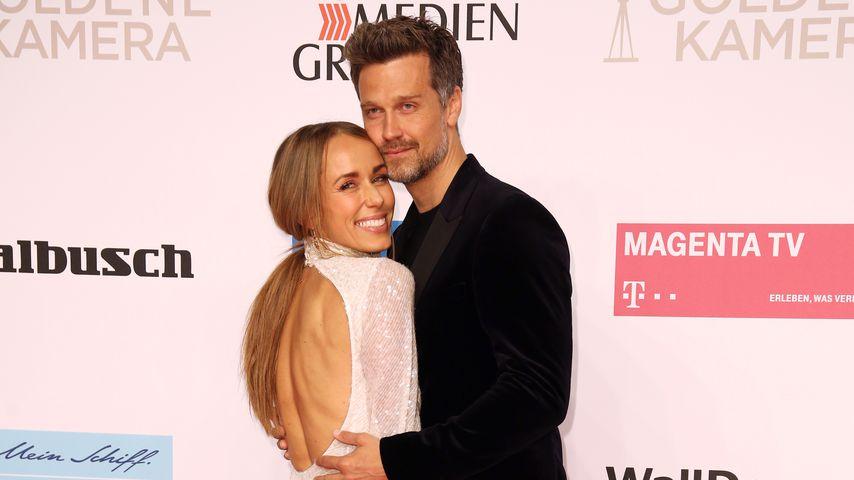 Annemarie und Wayne Carpendale im März 2019 in Berlin