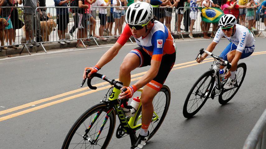 Annemiek Van Vleuten beim Straßenrennen bei Olympia 2016 in Rio de Janeiro