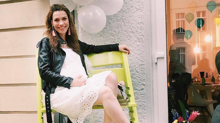 Vor Geburt: RTL-Star Annett Möller hat Mami-Modus gepackt!