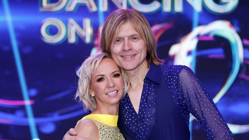 """Annette Dytrt und John Kelly bei """"Dancing on Ice"""" 2019"""