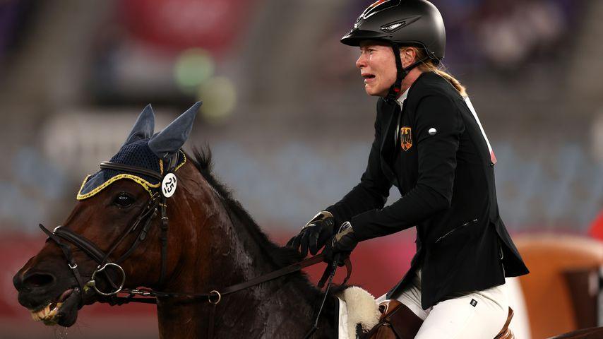 Fünfkämpferin Annika Schleu bei Olympia 2021 in Tokio