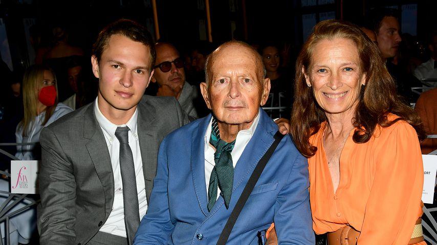 Für seinen Vater: Erster Auftritt von Ansel Elgort seit 2020