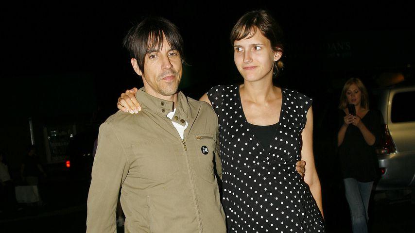 Anthony Kiedis und Heather Christie, 2007