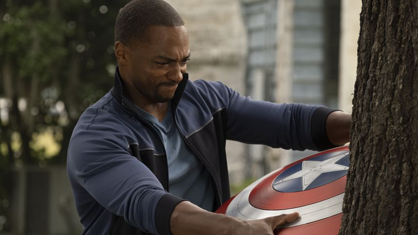 """Anthony Mackie als Falcon in """"The Falcon and the Winter Soldier"""""""