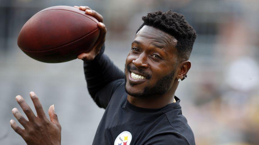 Antonio Brown beim Football-Training in Pittsburgh