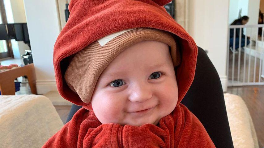 April Love Geary und Robin Thickes Sohn Luca