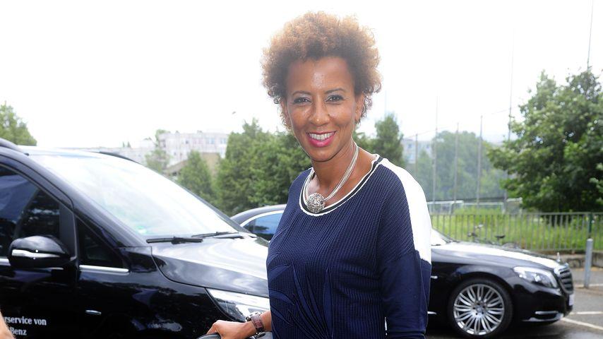 """Arabella Kiesbauer auf der """"Mercedes Benz""""-Fashion Week in Berlin"""