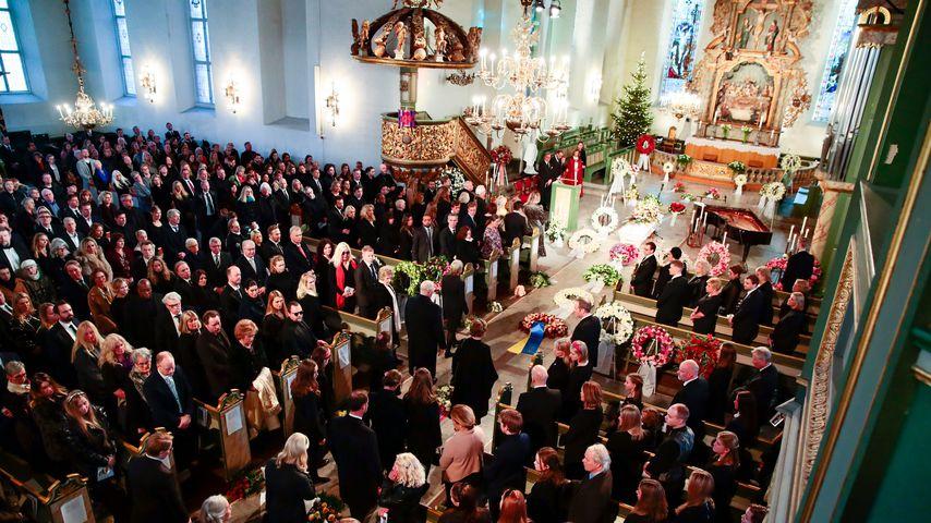 Ari Behns Trauerfeier in der Kathedrale in Oslo