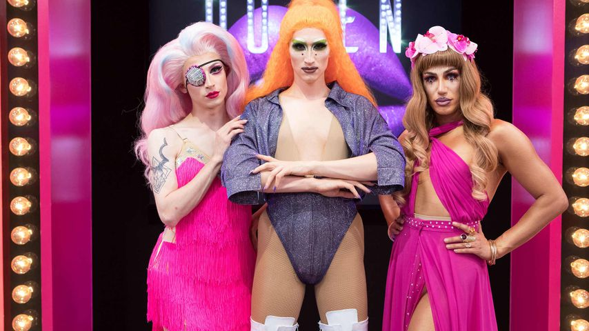 "Aria Addams, Vava Vilde und Yonce Banks im ""Queen of Drags""-Finale"