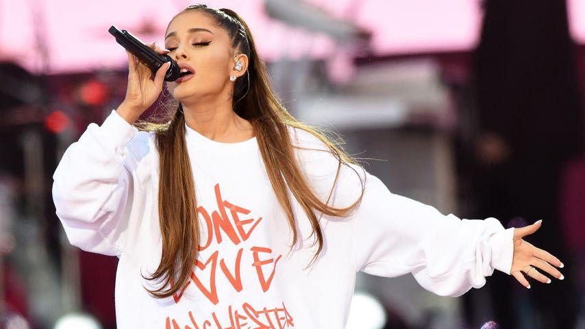 """Ariana Grande auf ihrem Benefizkonzert """"One Love Manchester"""" 2017"""