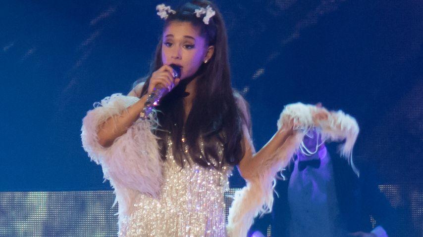 Nach Trennung: Ariana Grande lässt den Kopf nicht hängen