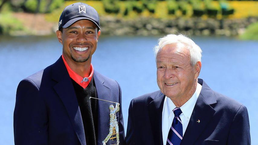 Sport-Ikone ist tot: Tiger Woods trauert um Arnold Palmer