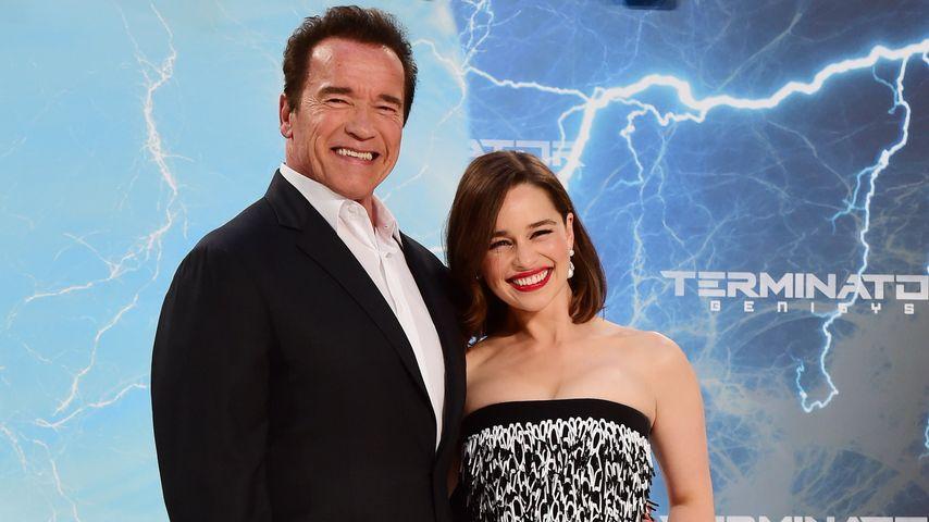 Terminator: Arnie is back & Emilia Clarke zeigt neue Frisur