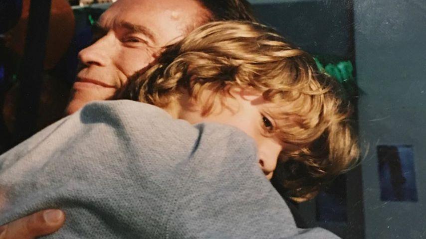 Arnold Schwarzenegger und Joseph Baena