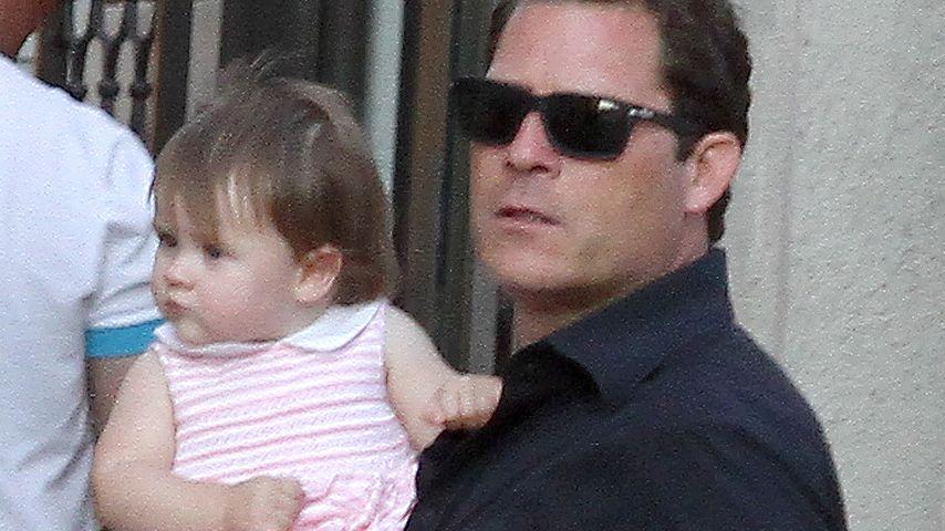 Arpad Busson mit Tochter Rosalind
