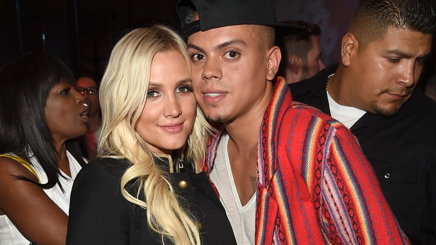 Ashlee Simpson und Evan Ross in Los Angeles