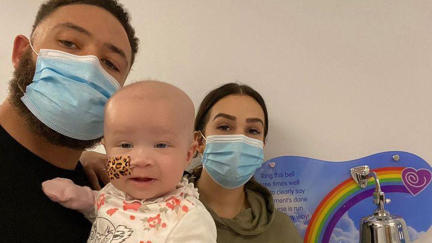 Ashley Cain mit seiner Familie