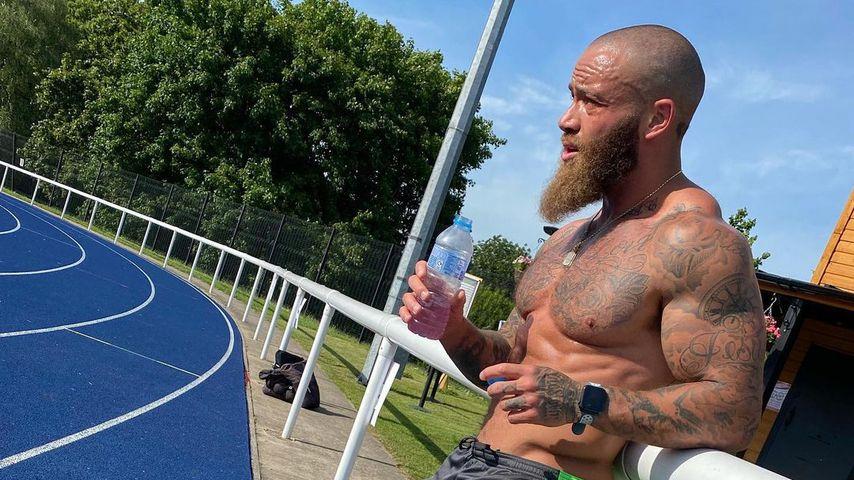 Nach Tod seines Babys: Training ist für Ashley Cain Therapie