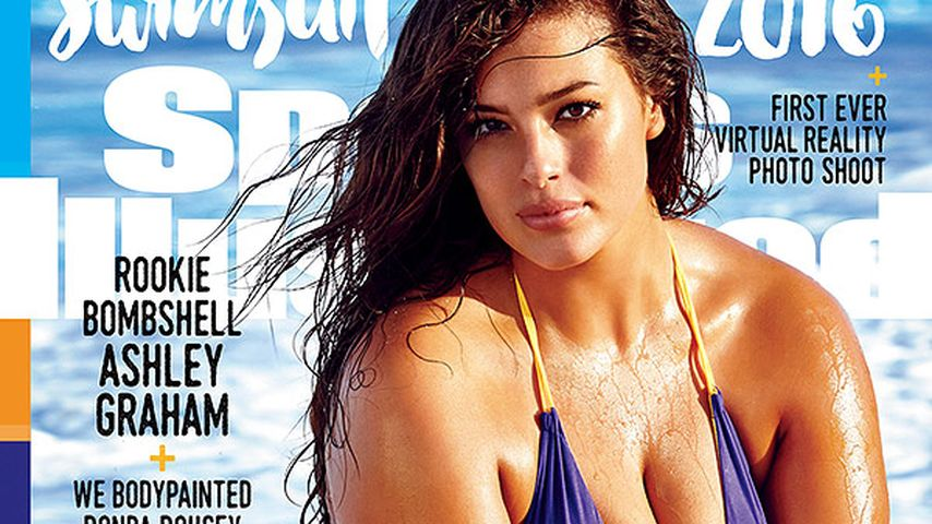 Ashley Graham auf dem Cover der Sports Illustrated Swimsuit