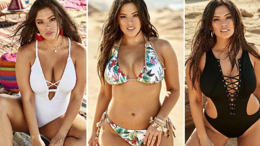 Ashley Graham richtig hot! Neue Bikini-Linie haut Fans um
