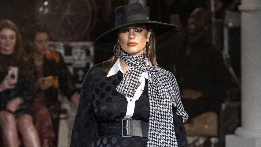 Ashley Graham bei der New York Fashion Week
